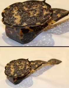 antique tortoise shell ruyi