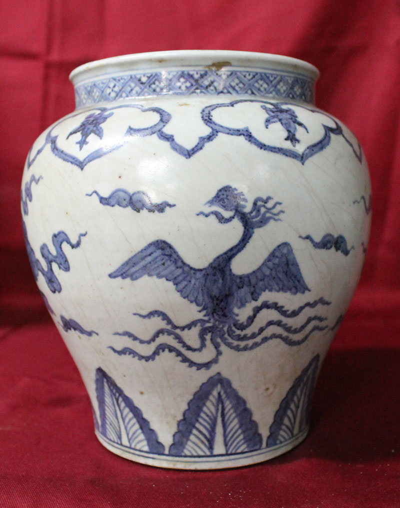 Antique Chinese Porcelain  Ming dynasty vase