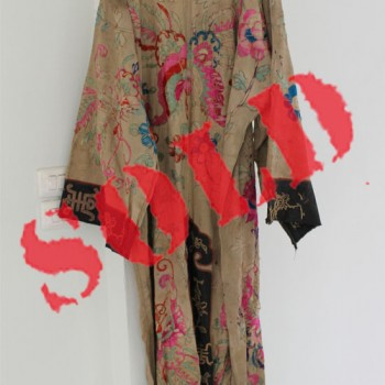 Antique Chinese Opera Dress from Qing Dynasty
