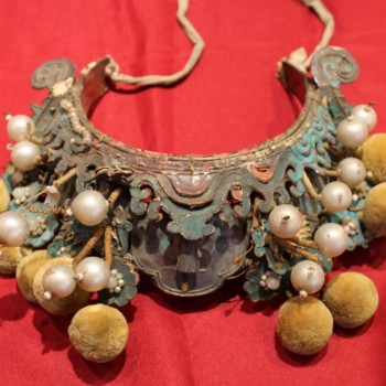 Chinese Antiques - Qing Dynasty Opera Hat