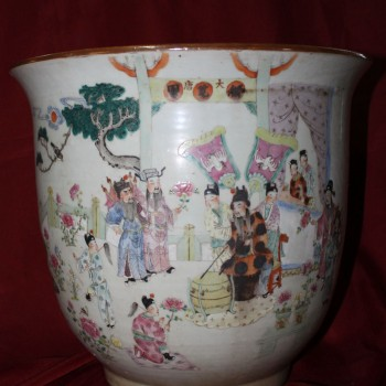 Chinese Antiques Planter Qing Dynasty