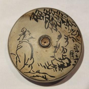 Antique Chinese opium bowl P#29
