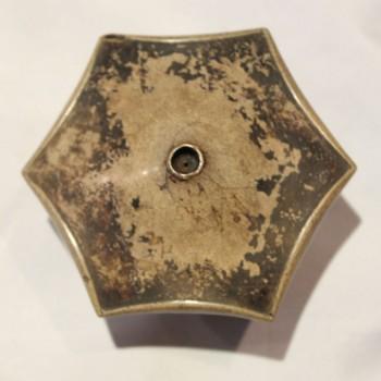 Antique Chinese opium bowl #7