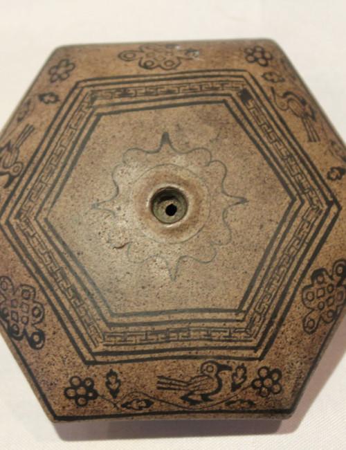 Antique Chinese opium bowl #6