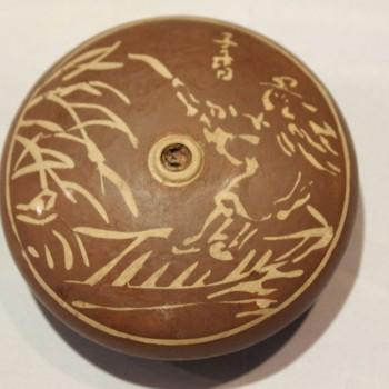 Antique Chinese opium bowl P#24