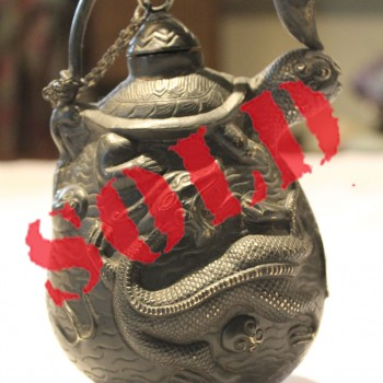 Tang dynasty antique Chinese silver pitcher