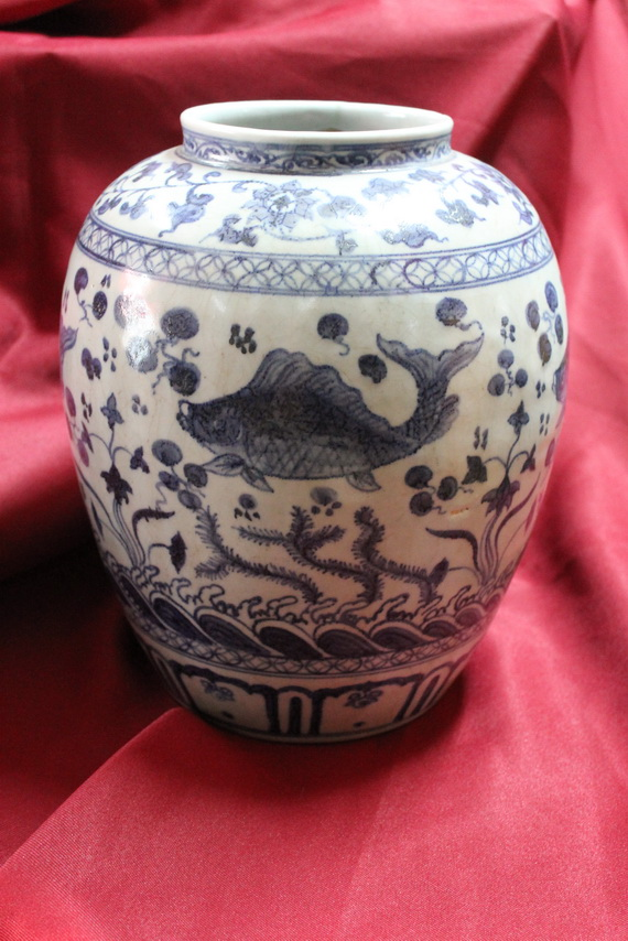 Antique Chinese Porcelain Ming Dynasty Vase Real Rare Antiques