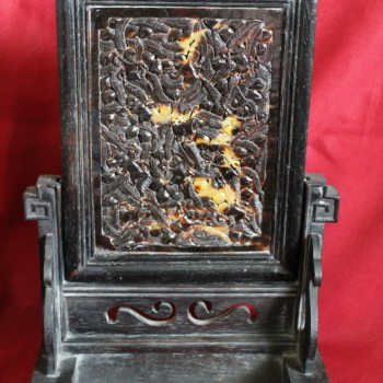 Antique Tortoise Shell Carving