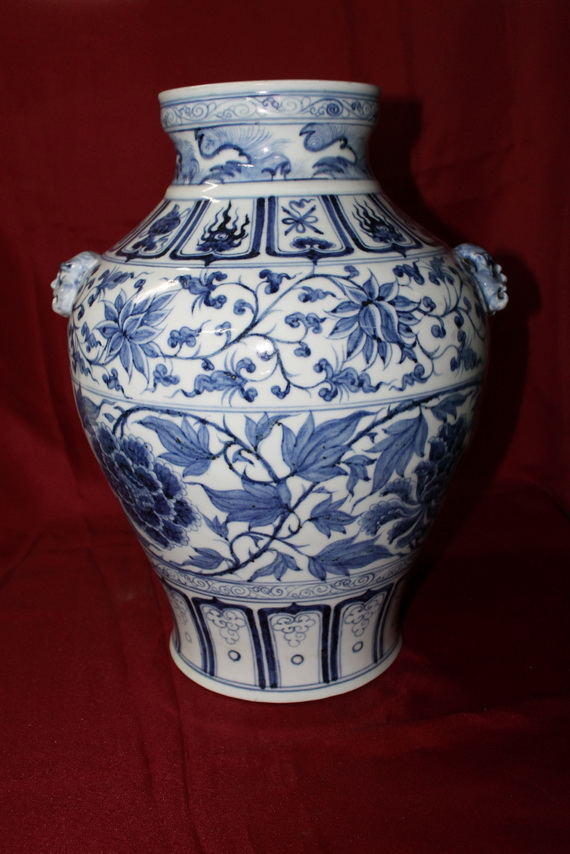 Antique Chinese Porcelain Vase Early Ming Dynasty Real Rare Antiques