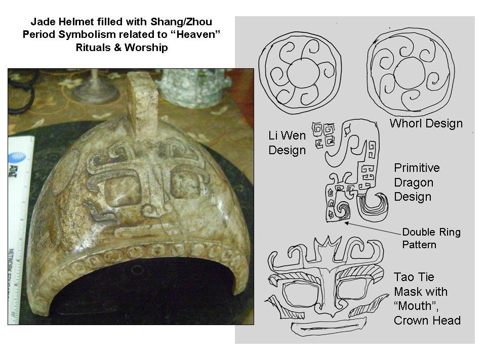 Jade Helmet & Comparison with Bronze in Museums
