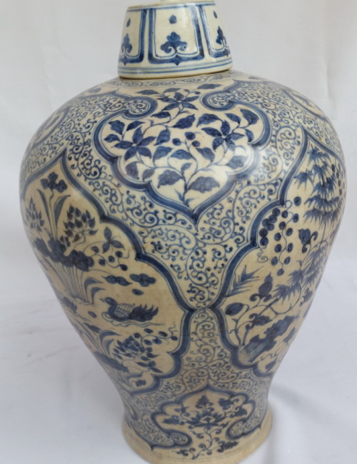 Ming blue and white porcelain