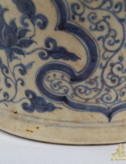 blue and white Ming porcelain
