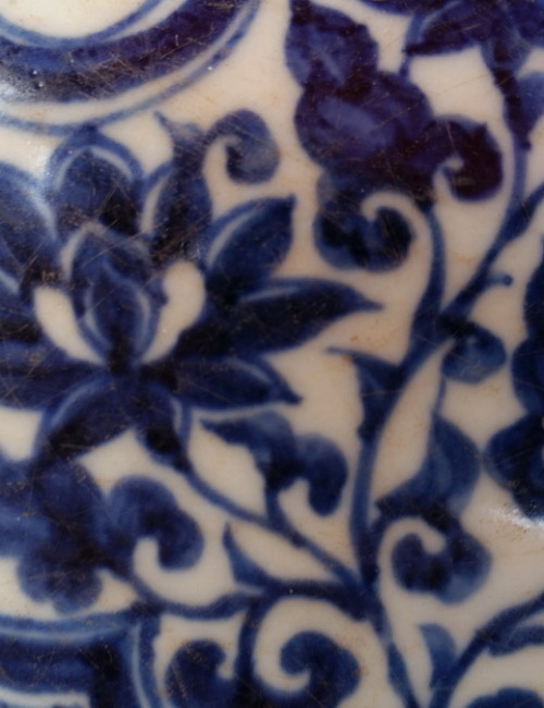 blue and white yuan