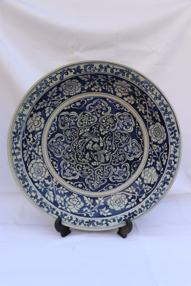 Antique Chinese Porcelain Blue And